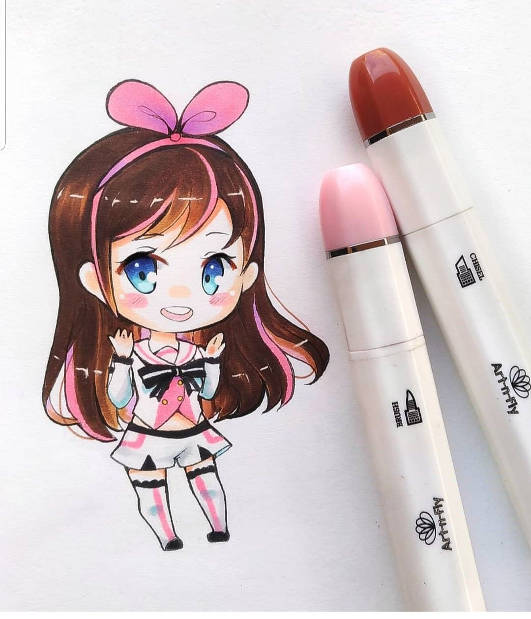 Pin By Art N Fly On Art N Fly Sketch Markers Art Marker Art Anime