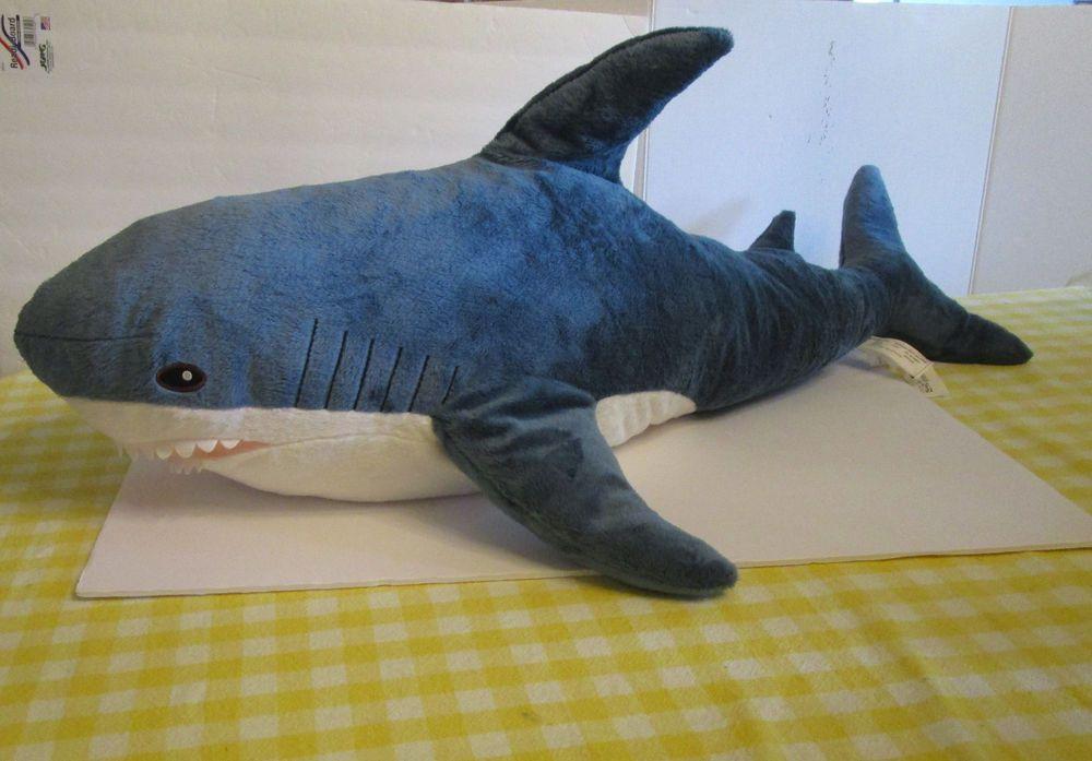 Ikea Big Jumbo Blahaj Friendly Shark Stuffed Animal Large Plush Soft