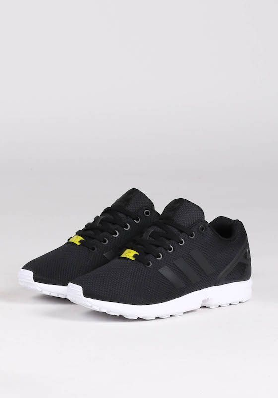 Adidas Zx Flux 20 Suede Lightweight Running Cyan Shoes Large Quantity Black Mens