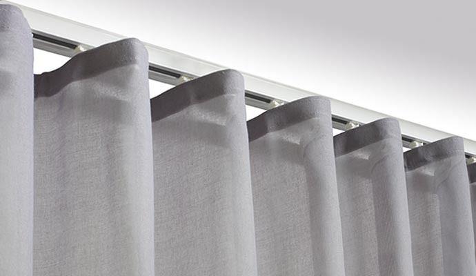 Curtain Panels Recessed Window