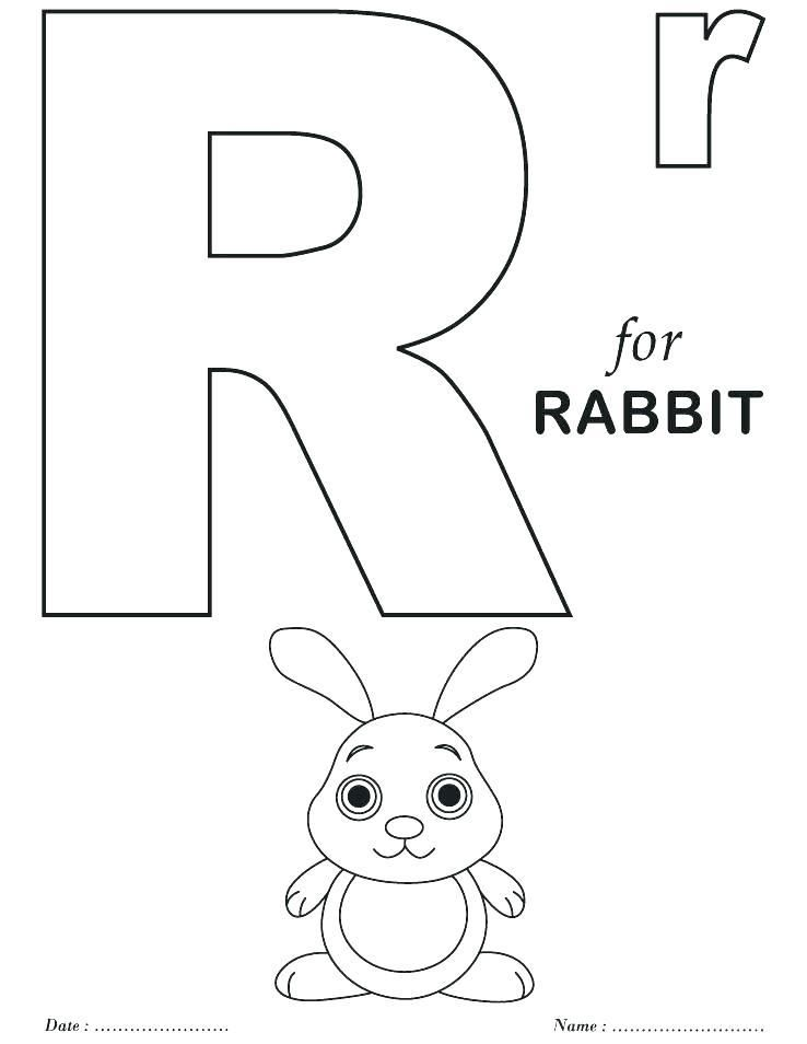 Letter R Coloring Page Letter R Coloring Sheets Letter R Coloring Izuchat Anglijskij Anglijskij Yazyk