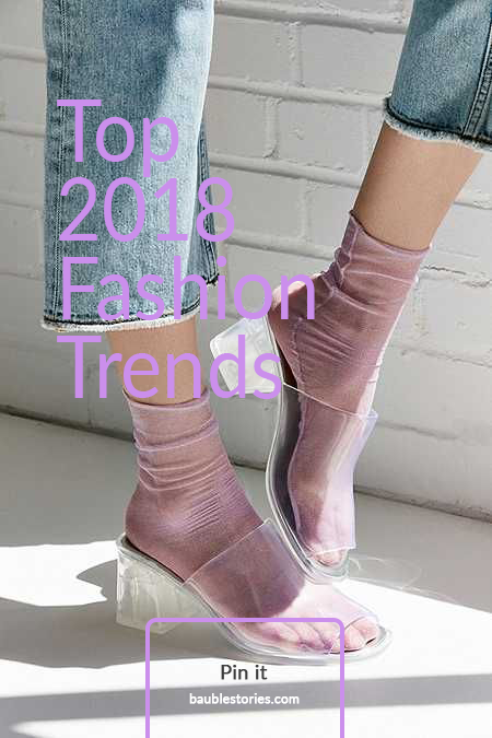 A round up of the top fashion accessory trends for 2018, photo via Urban Outfitters | Bauble Stories