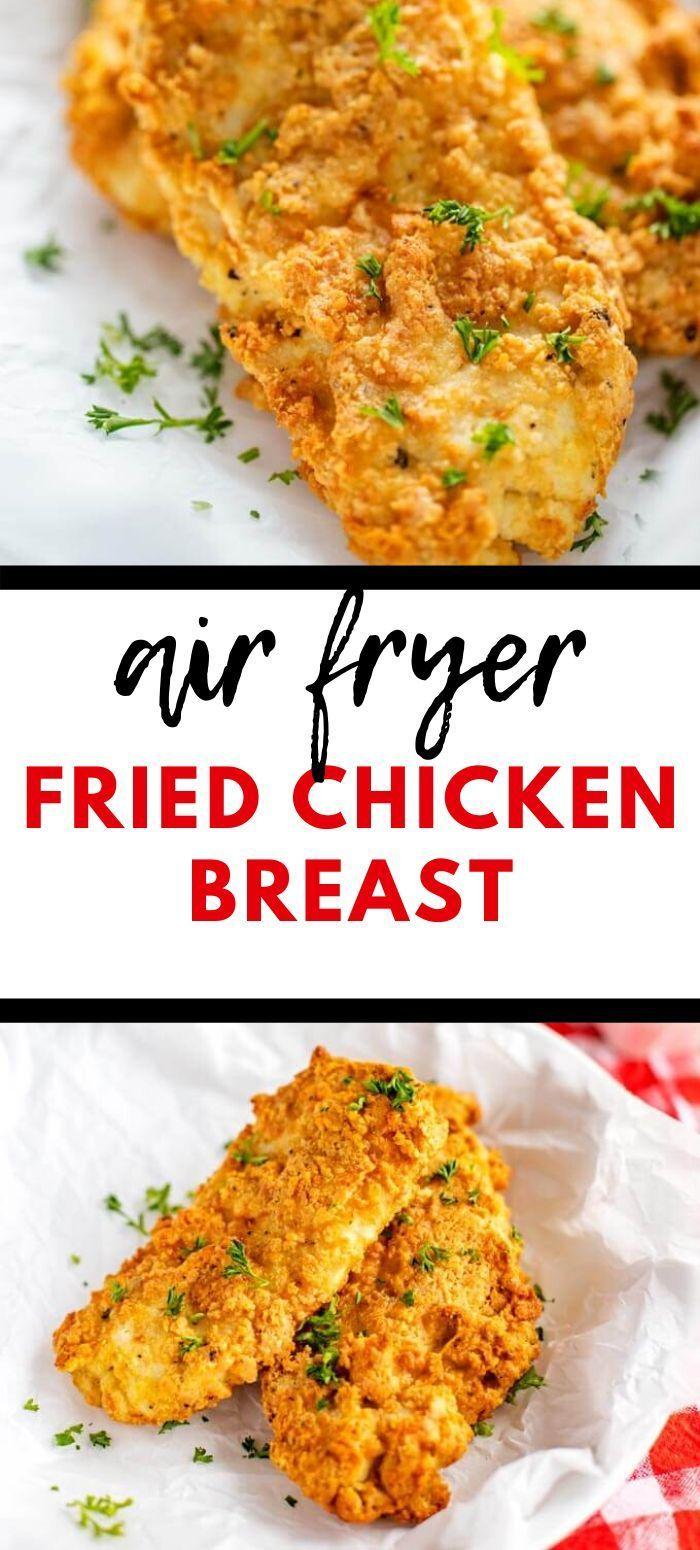 Air Fryer Fried Chicken GlutenFree, LowCarb, Keto