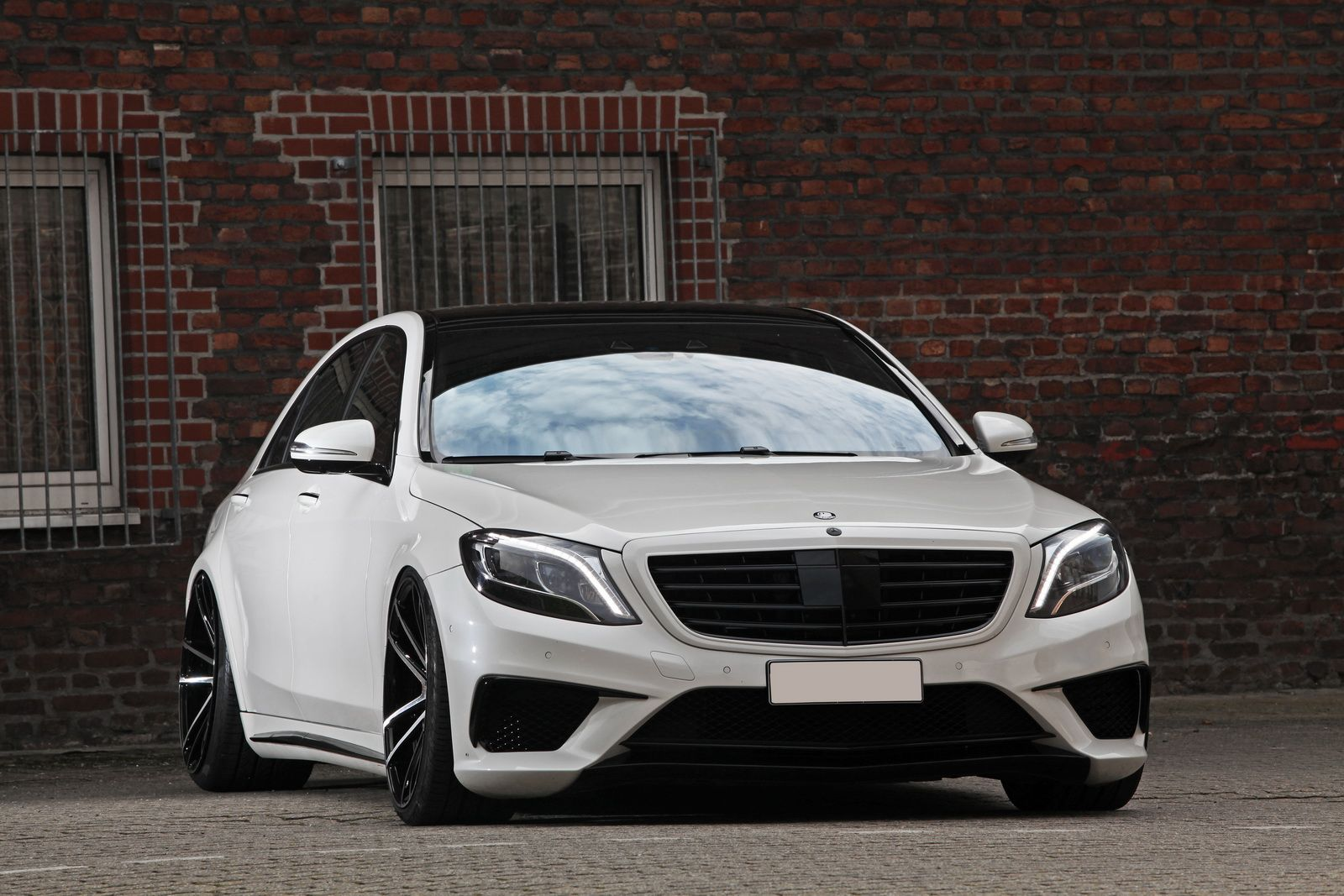 Mercedes Amg S63 Slammed Stanced And Boosted Carscoops Mercedes Amg Amg Mercedes