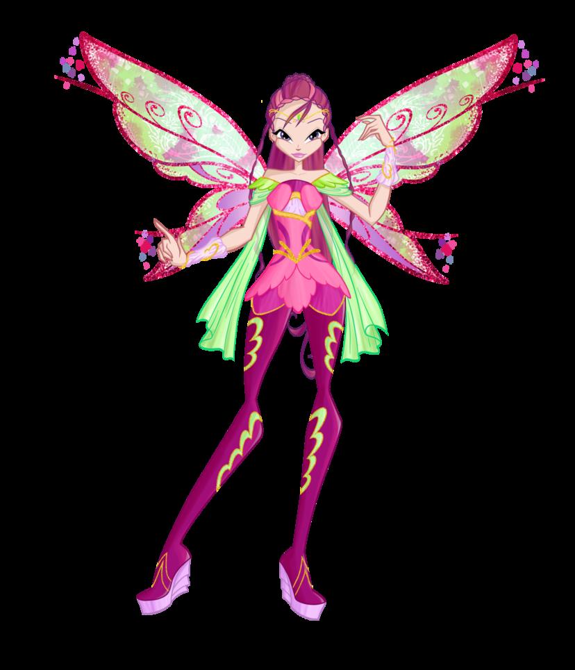 Deviantart coloring clubs - Winx Club Season6 Roxy Bloomix Design By Forgotten By Gods On Deviantart