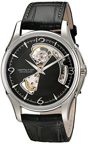Hamilton Men's HML-H32565735 Jazzmaster Open Heart Analog Display Swiss Automatic Black Watch, http://www.amazon.com/dp/B002IWVRQO/ref=cm_sw_r_pi_awdm_Q3lgvb061W737