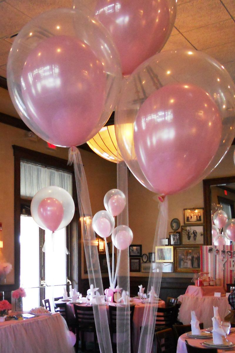 25 fun things to do with balloons decoration unique and for Balloon decoration for baby girl