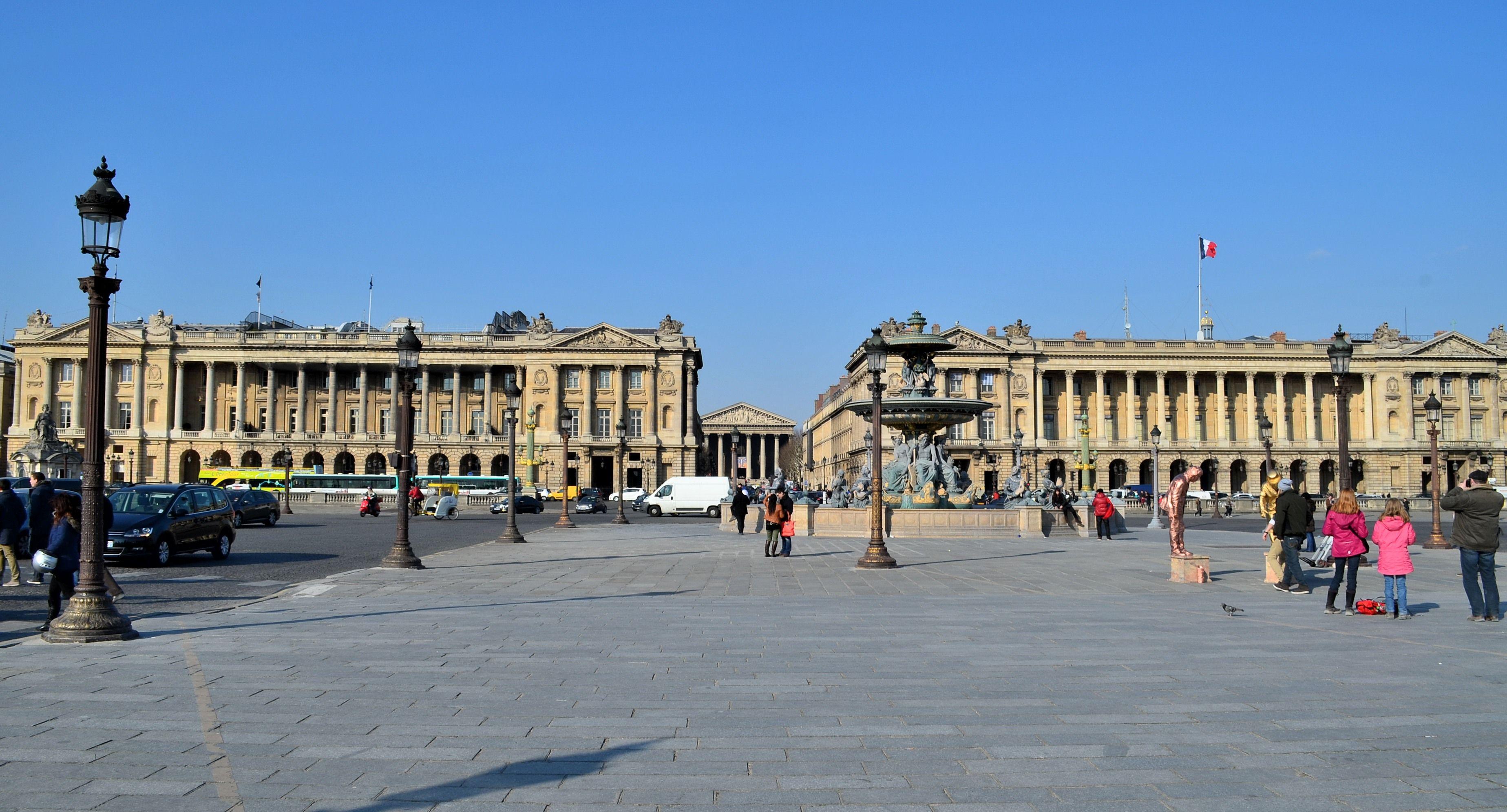 Plaza De La Concordia 18th century, france - ange-jacques gabriel (1698-1782