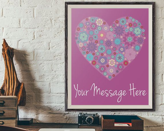 Personalized Valentine's Gift, Customized Birthday Gift, Occasion Gift, Just Because Gift, Anniversary Gift, Love Wall Art Gifts, Cute Love