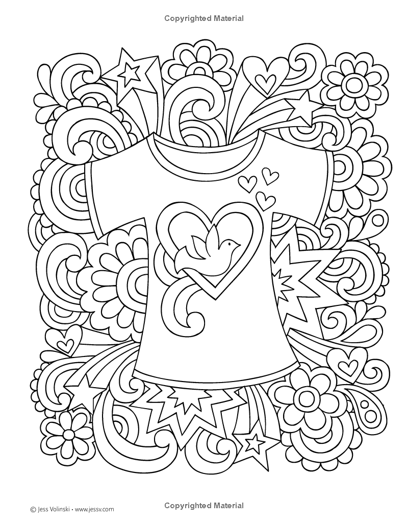 the notebook coloring pages - photo#40