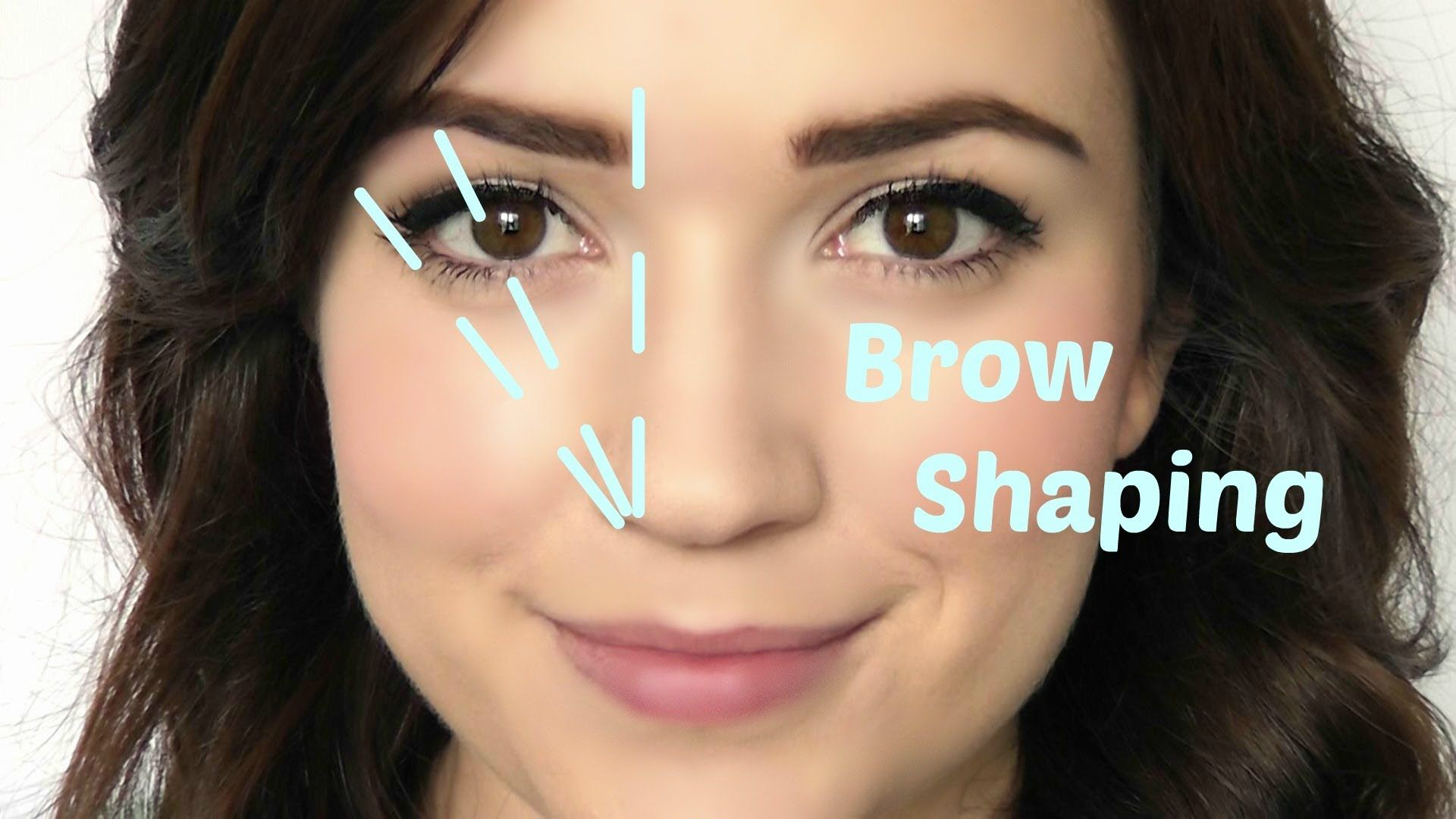 Getting The Right Eyebrow Shape Can Seem Tricky At The Start But