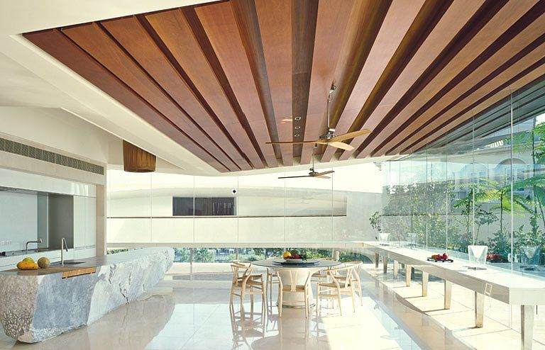 Inspiration Küchen in Architektenhäusern Arch - schöner wohnen küchen