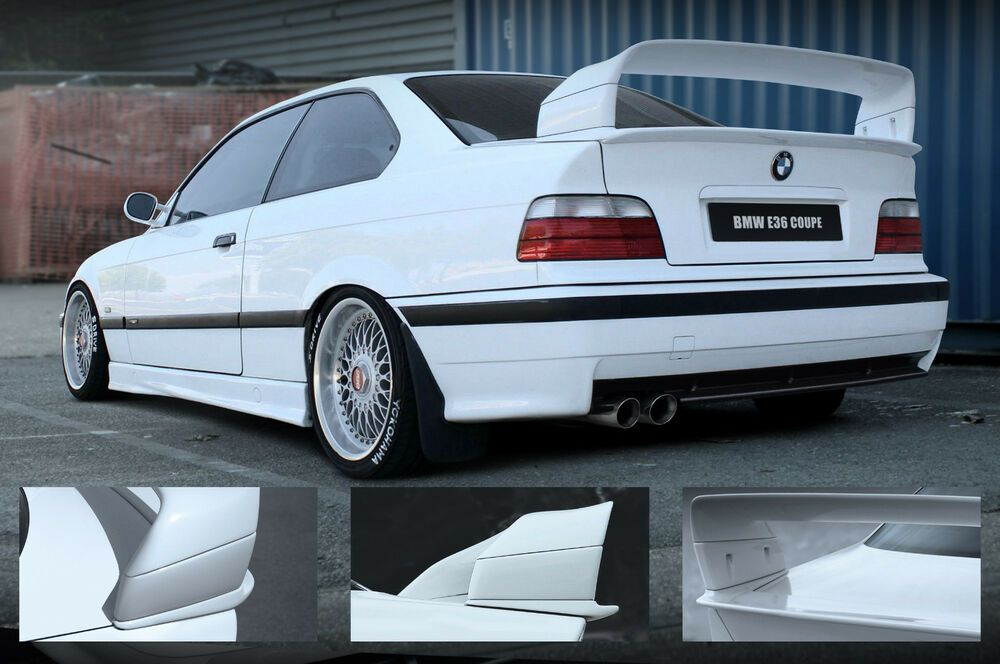 Photo of HECKSPOILER HECKFLÜGEL BMW E36 Class II 2 M3 GT Technik rear wing