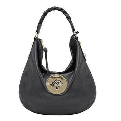 Bag Mulberry Hobo Spongy Black