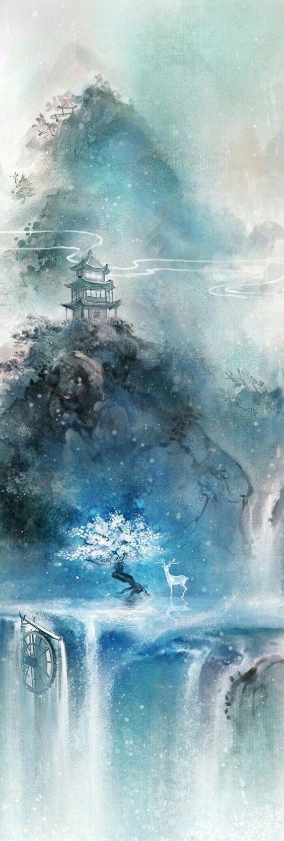 ARKA PLAN RESİMLERİ in 2020 Fantasy landscape, Landscape