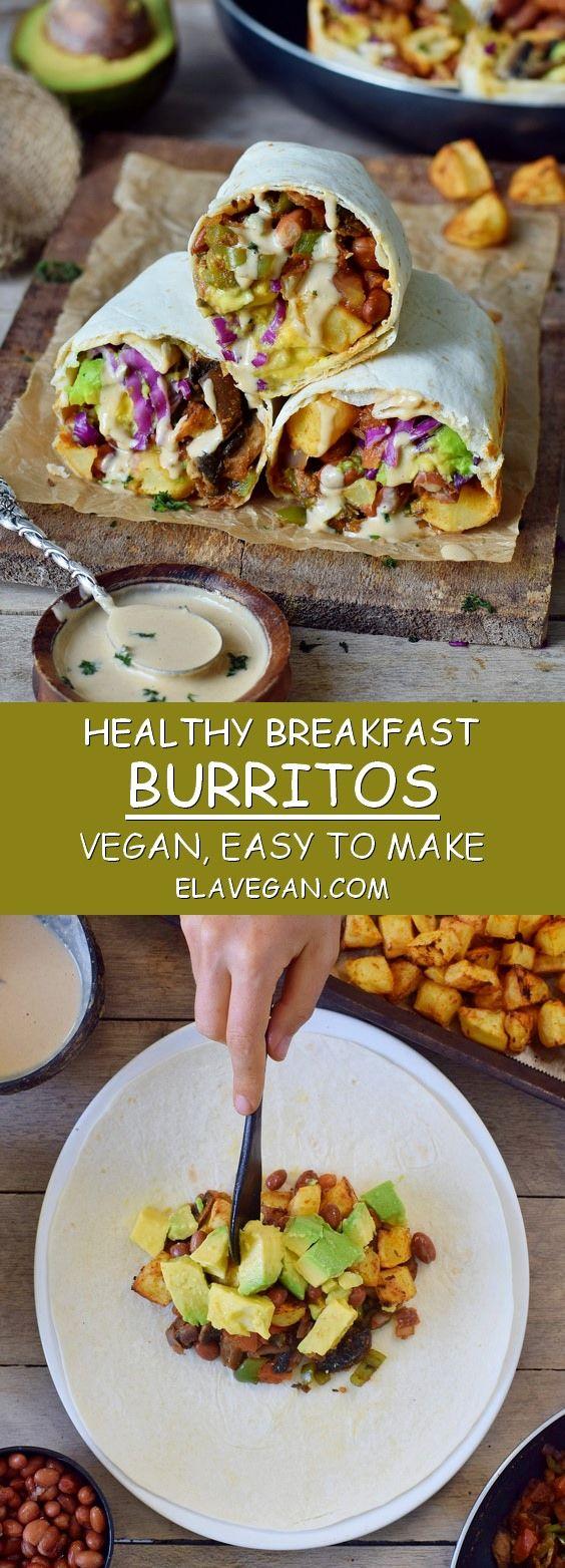Vegan Breakfast Burritos images