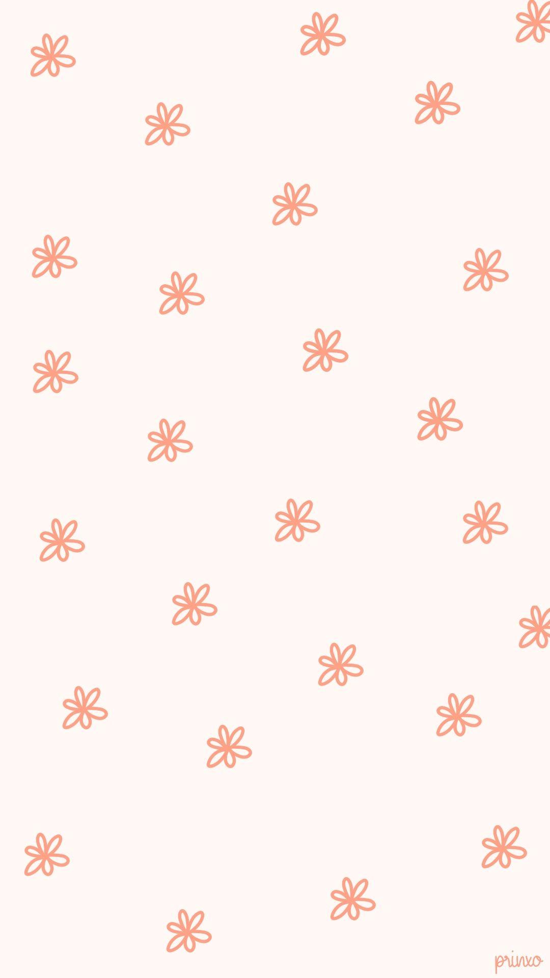 March Flowers Wallpaper Pink Cute Patterns Wallpaper Homescreen Wallpaper Iphone Background Wallpaper Aesthetic pattern aesthetic wallpaper