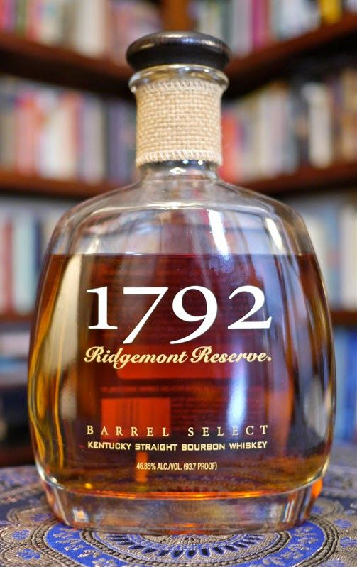 The 1792 Ridgemont Reserve Kentucky Straight Bourbon Whiskey; aroma - floral, sweet corn, vanilla, black pepper, new oak and syrup and tastes of butter/toffee, dried apricots, pencil eraser (not in a bad way). A solid B bourbon and for the price range this could be a good every day bourbon!
