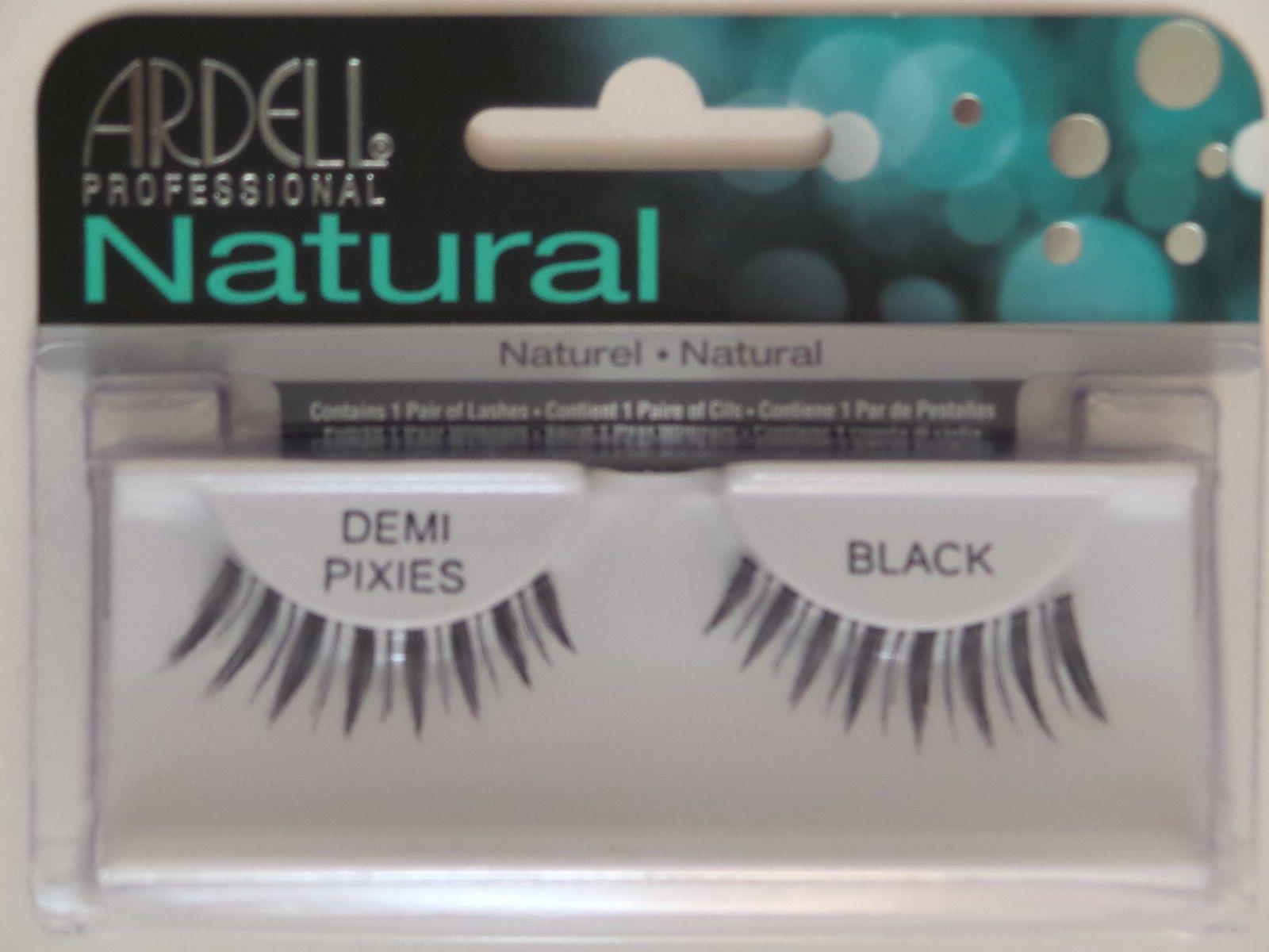 ff9a5b4497e $11.87 - (Lot Of 4) Ardell Natural Demi Pixies False Eyelashes Fake Lashes  Black #ebay #Fashion