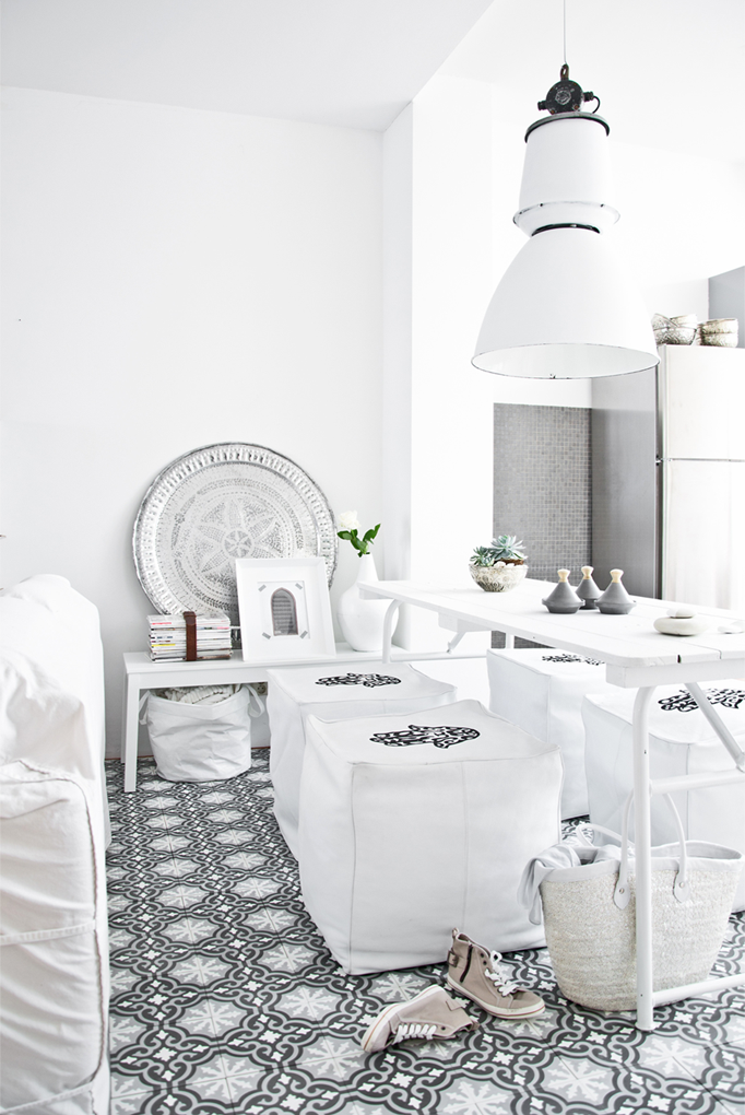 Maroc Un Int Rieur Au Total Look Blanc Moroccan Inspiration And Interiors