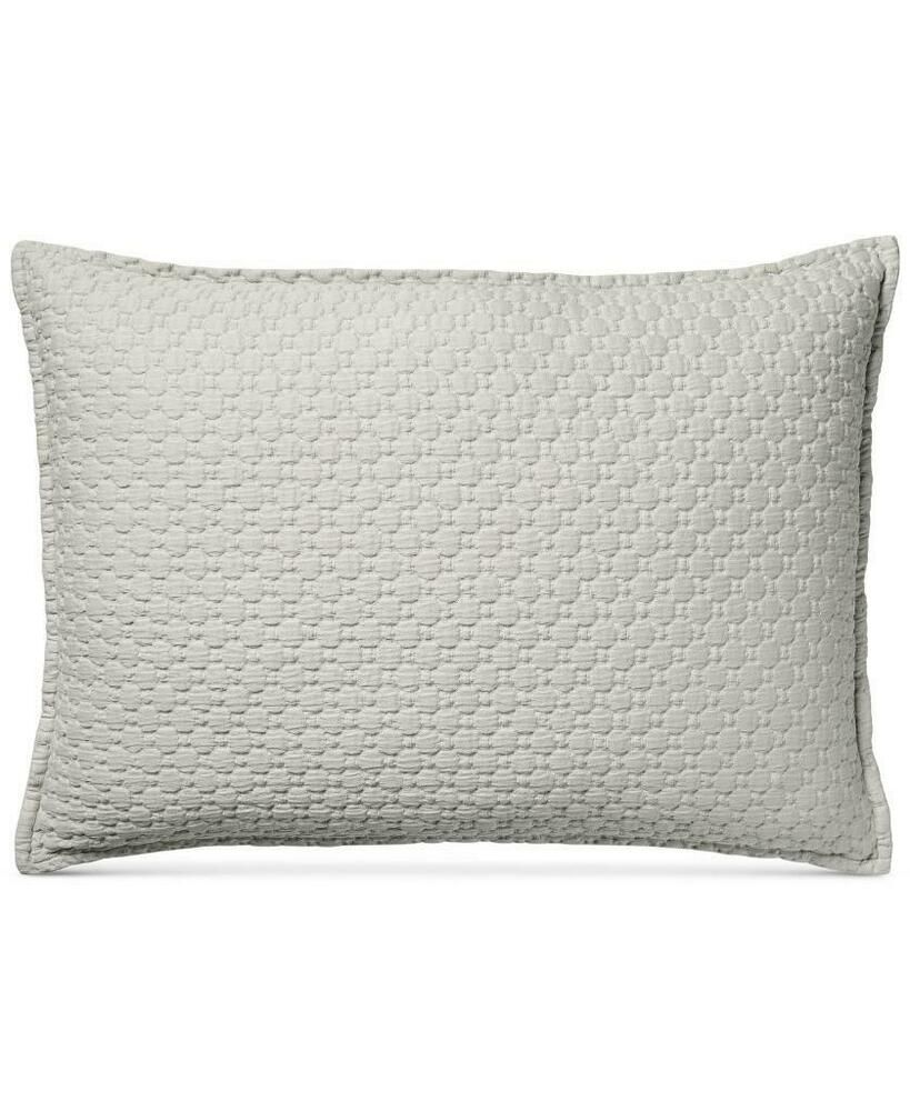 Pair Of Hotel Collection Speckle Cotton Grey Quilted King Pillow Sham Set Hotelcollection Hotel Collection King Pillows Quilted Coverlet
