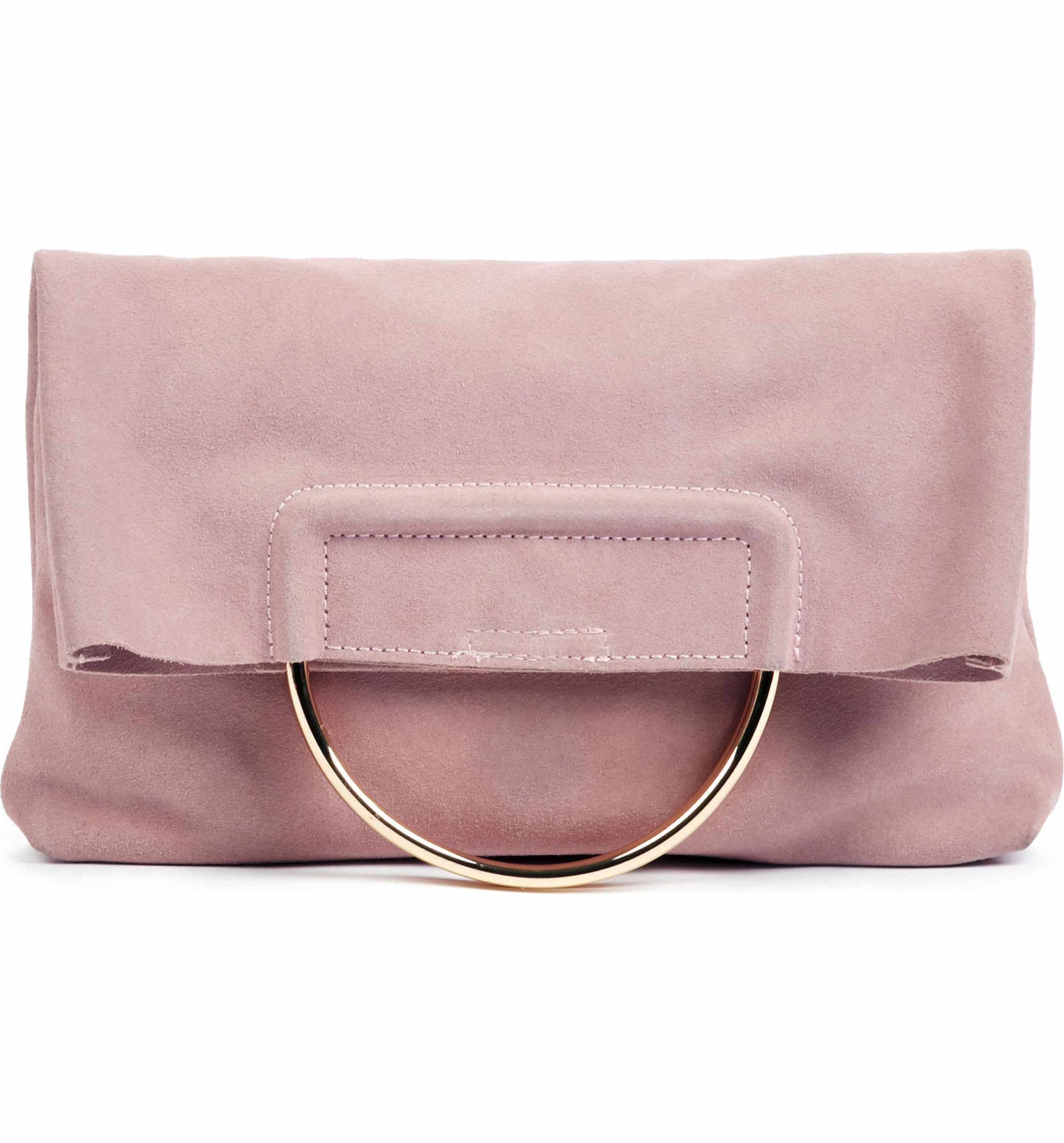 a00f475e5 Main Image - Sole Society Suede Foldover Clutch | Currently Crushing ...