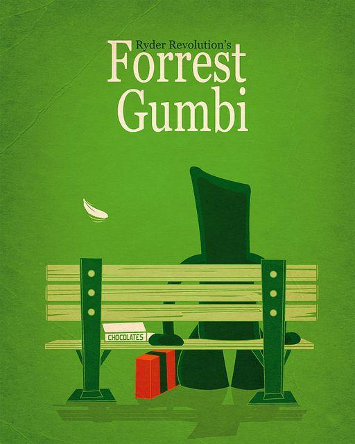 Forrest Gumbi  Designed by Ryder Revolution