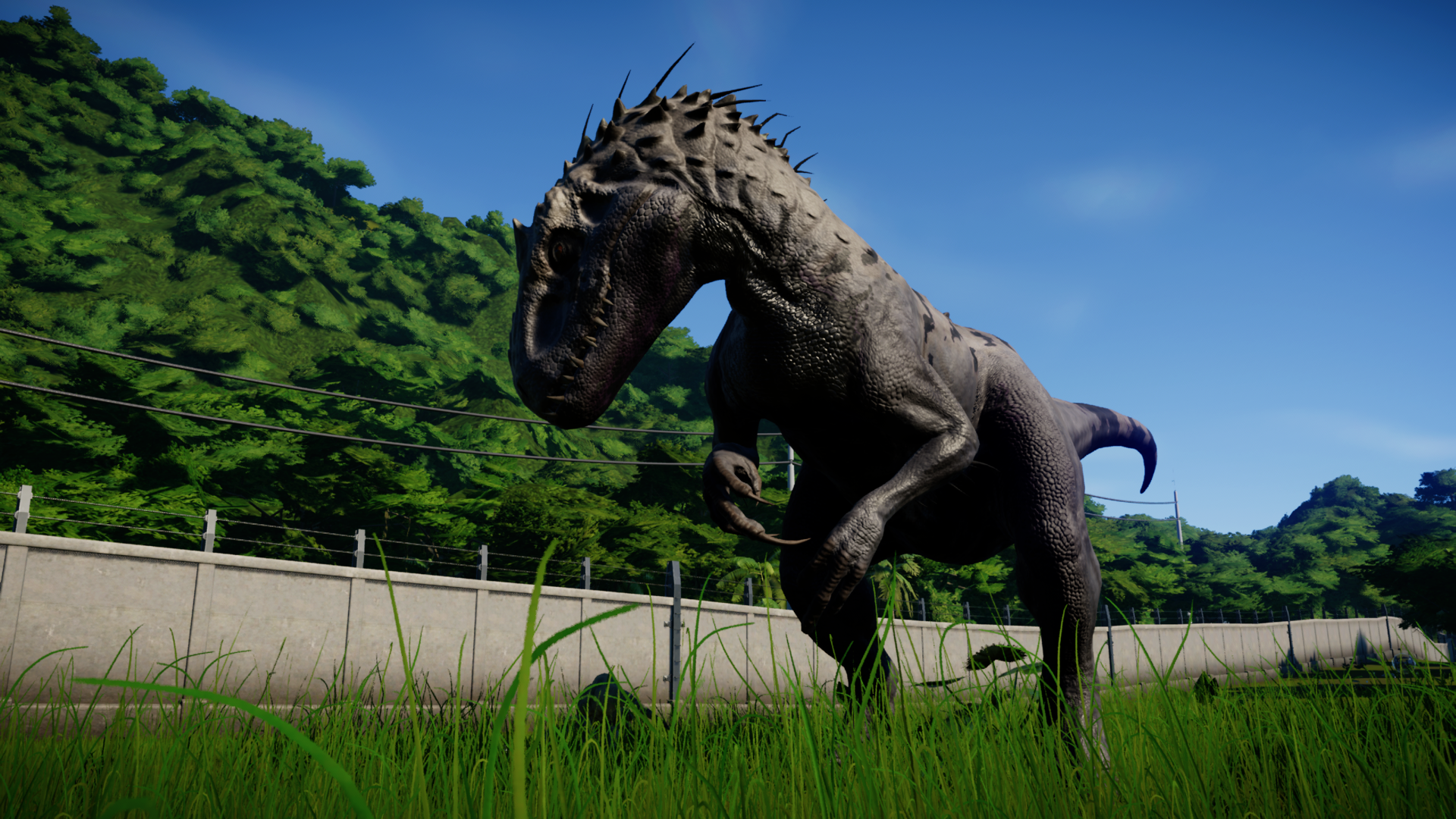 Indominus Rex Jurassic world Evolution. Jurassic world