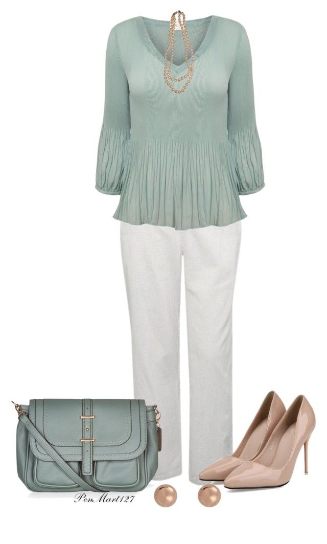 """Monday Morning at the Office"" by penny-martin ❤ liked on Polyvore featuring M&Co, EAST, Other, Accessorize and Marc by Marc Jacobs"