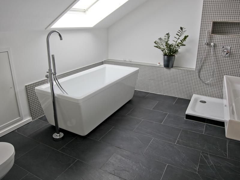 best 25+ badezimmer grau weiß ideas on pinterest, Badezimmer