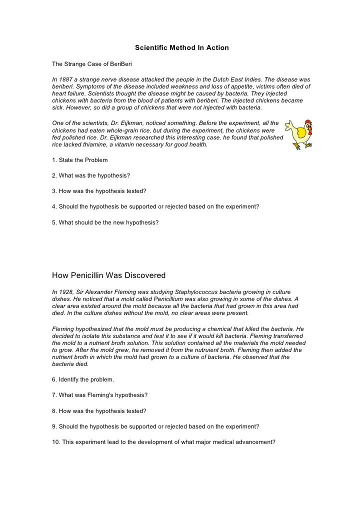 Identifying Variables Worksheet Answers Scientific Method Earth ...