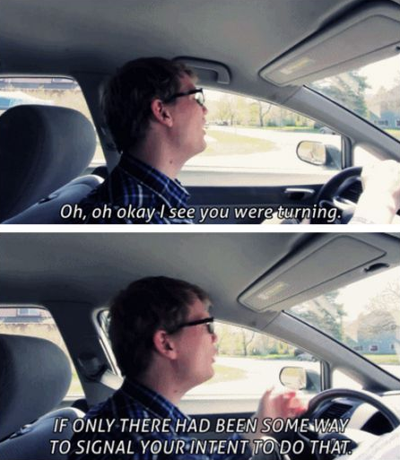 Trying to drive anywhere in DC (and probably most other major cities as well)