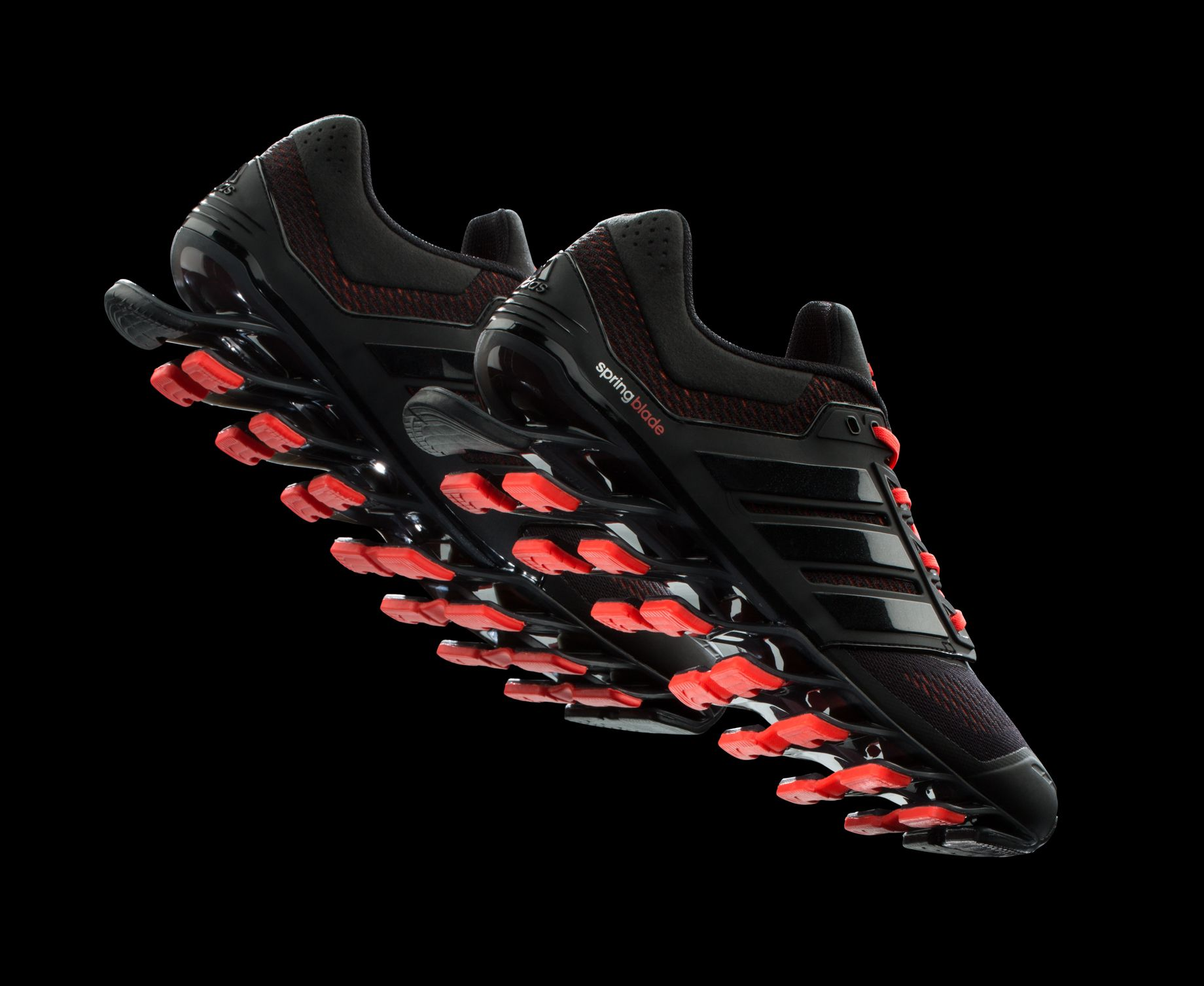 medio Opuesto impresión  ADIDAS SPRINGBLADE DRIVE running shoes BLACK RED C75665 | Adidas, Nike  shoes women, Black running shoes
