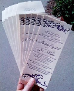 Simple Cheap Wedding Invitations 244x300 Simple Cheap Wedding