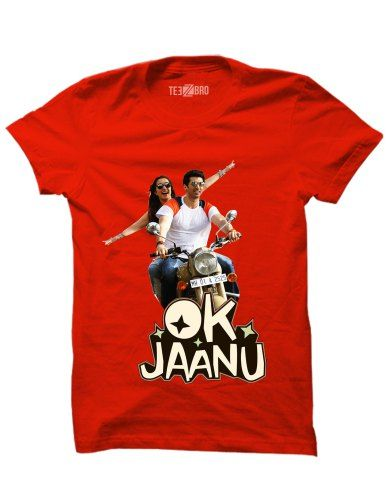22de1524 OK Jaanu T-shirt online | Movies Tshirts For Sale | T shirt, Tshirts ...