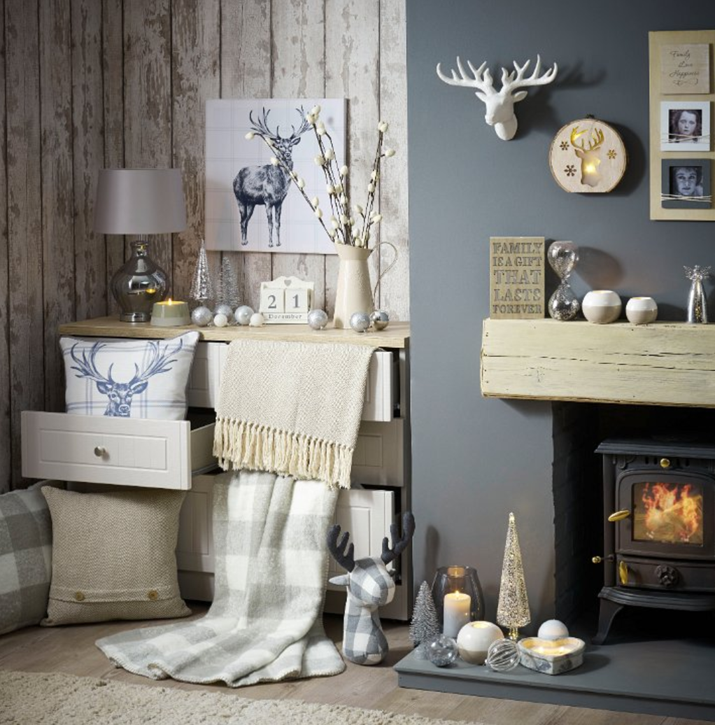 Turn Your Living Room Into A Cosy Woodland Sanctuary With