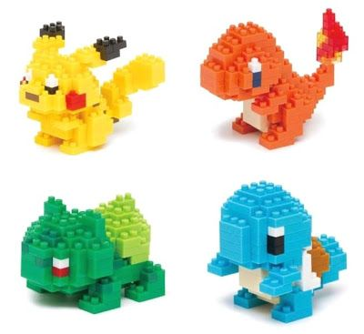 Nanoblock Pokemon Tiny Blocks Please Pinterest Pokmon Lego
