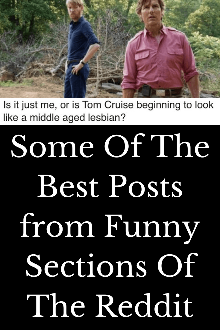 Some Of The Best Posts From Funny Sections Of The Reddit In 2020 Funny Good Things Jokes