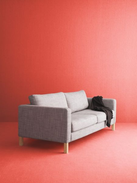 One Sofa Small Living Room Decor: This Is KARLSTAD. With Cushions That Give Support And