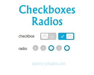 Accessible & Skeuomorphic Checkbox/Radio jQuery Plugin