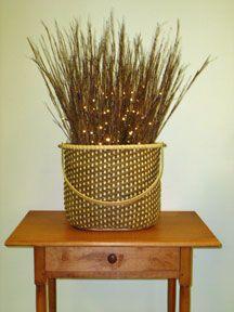 Smoky Oblong Twill Basket Pattern.  Love the pattern of the weave