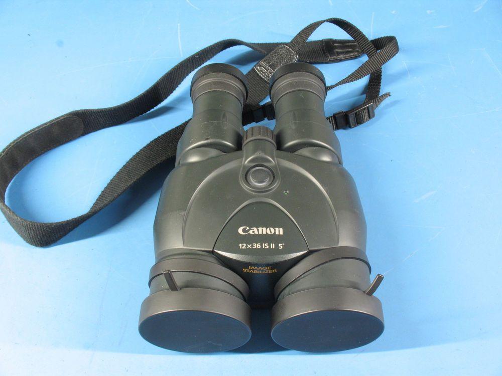 Canon Image Stabilized 12x36 Is Ll 5 Degree Binoculars Binoculars
