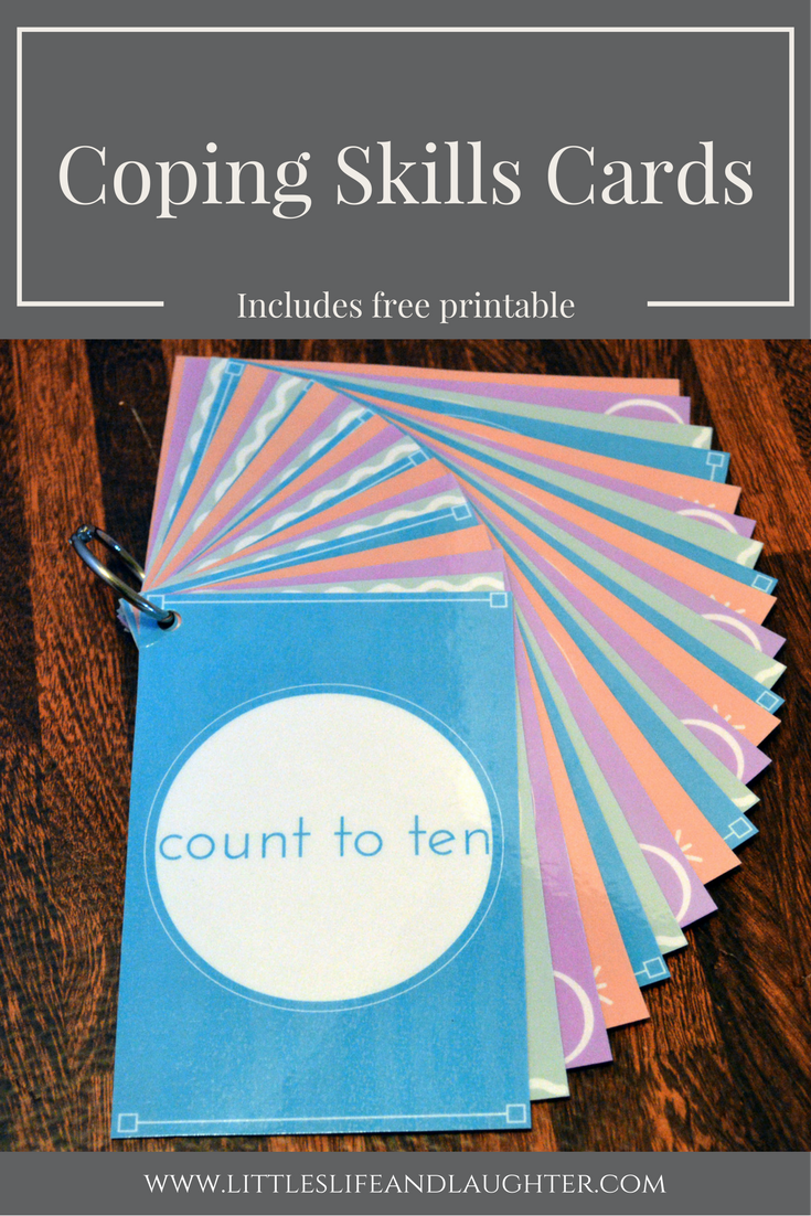 Coping Skills Cards | School counseling tools | Coping