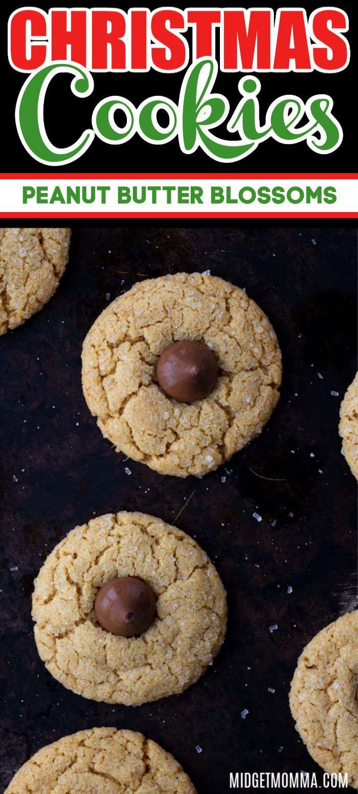 Homemade Peanut Butter Blossom Cookies Recipe