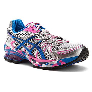 Asics GEL-Sendai™ White/Brilliant Blue/Silver. Asics Running ShoesSendaiShoes  Women