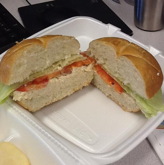 Chicken Salad Sandwich @ Bon Appetit Cafe