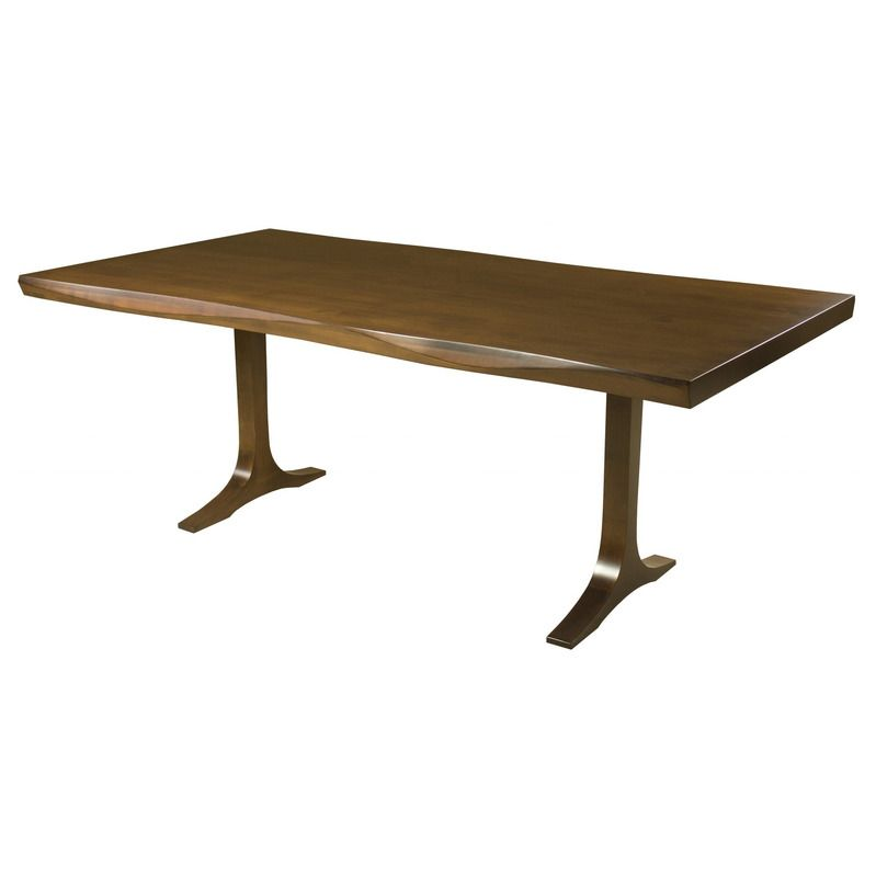 Saloom Furniture Paxton 36 Inch Sculpted Edge Dining Table