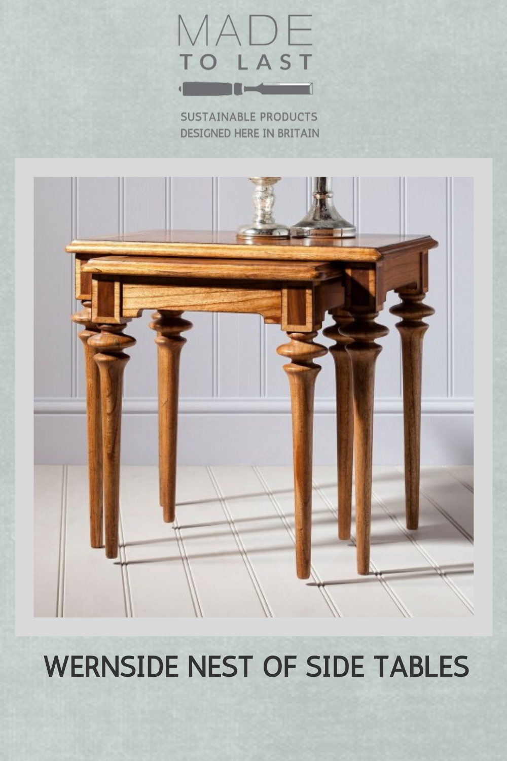 Wernside Nest Of Side Tables Furniture Furniture Collection Table