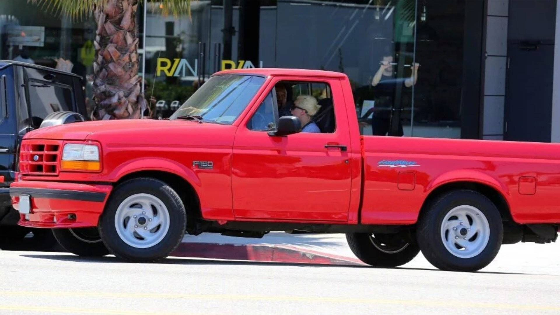 Did You Know Lady Gaga Drives A 1993 Ford F 150 Svt Lightning The Drive Ford Lightning Svt Lightning Ford