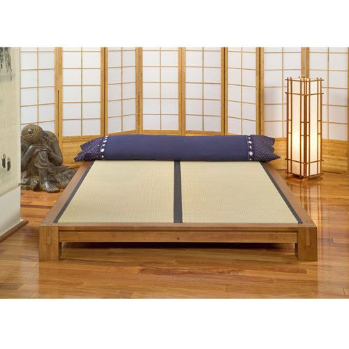 Tatami Platform Bed Is Masterfully Crafted From Solid Hardwood